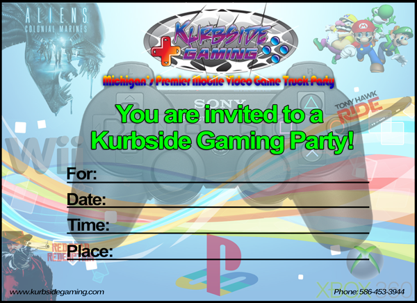 Kurbside Gaming Truck Invite