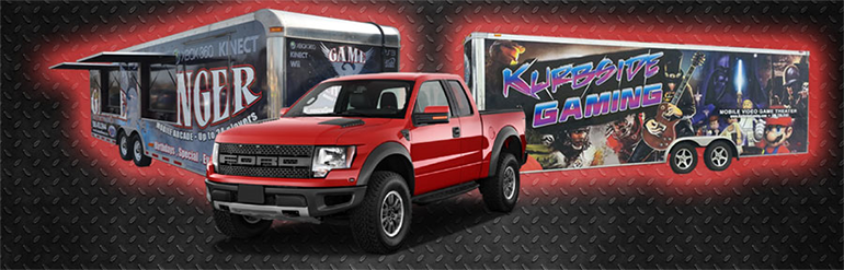 Game Truck Rental Fraser Michigan